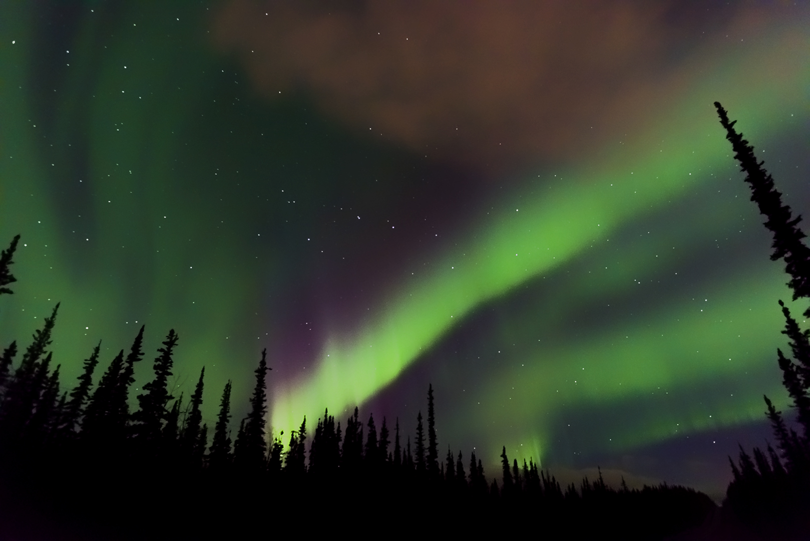 Aurora Borealis by Ken Quigley