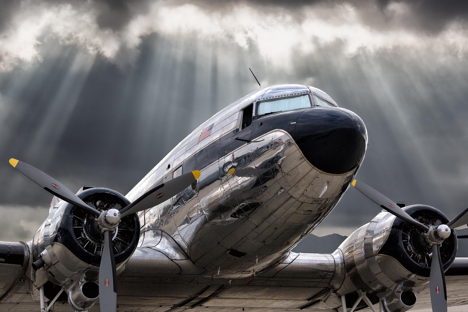 Golden Age Of Flight by Rick Gauthreaux