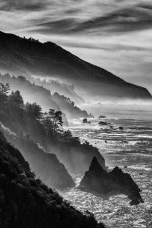 Big Sur Coast By Heidi Gauthreaux