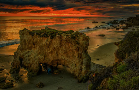 El Matador Sunset by Lin Craft