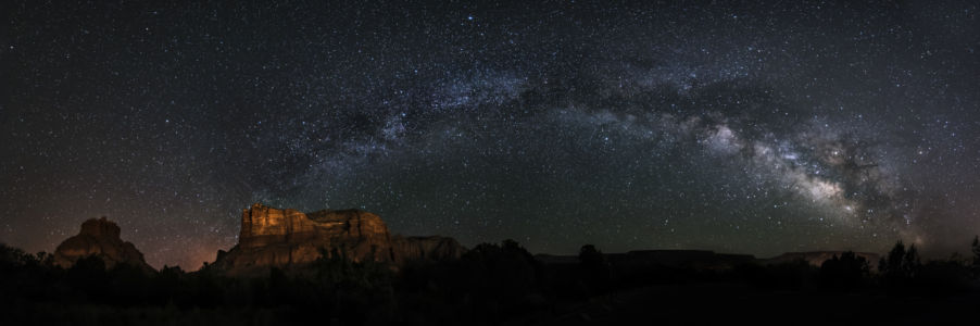 Milkyway Over Sedona By Koustav Maity
