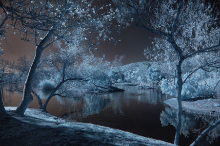 Land of Enchantment, Infrared by Bill Gracey