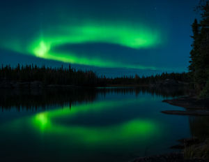 Aurora Reflected by Alan Haynes
