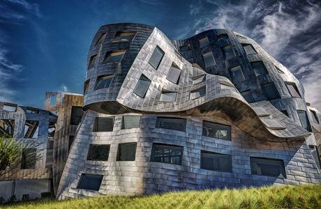 A Frank Gehry Creation by Barbara Fletcher